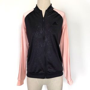 adidas Jackets & Coats - Adidas Black Rose Track Jacket